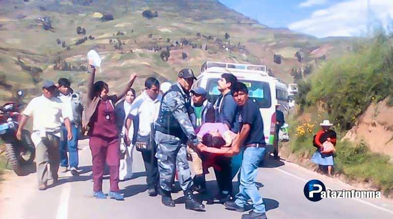 LA LIBERTAD | Accidentes en la sierra liberteña dejan 1 muerto y 8 heridos