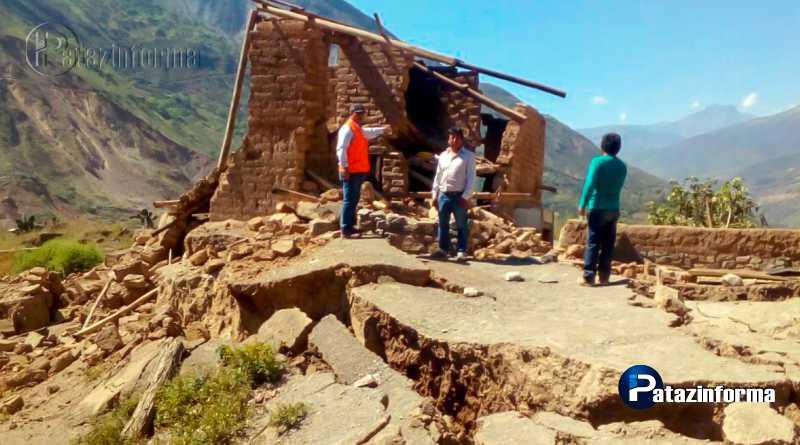 LA LIBERTAD | Más de 120 damnificados deja falla geológica en el ande