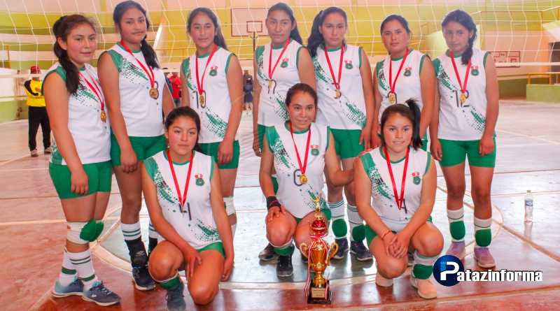 TAYABAMBA   Colegio Santo Toribio BICAMPEÓN provincial vóley Sub 17