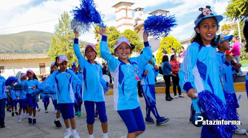 TAYABAMBA | Con olimpiadas Ángelo Pagani dio inicio a su XX aniversario