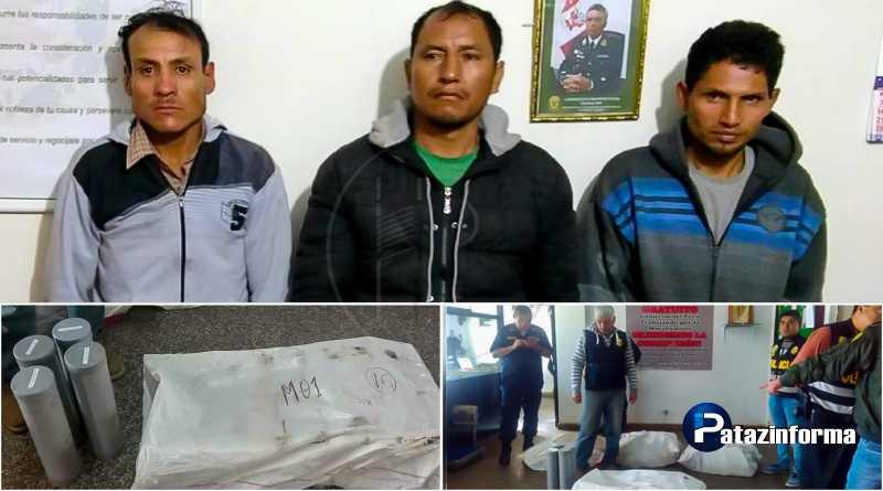 LA LIBERTAD | Detienen a 3 sujetos con 220 kilos de marihuana en el ande