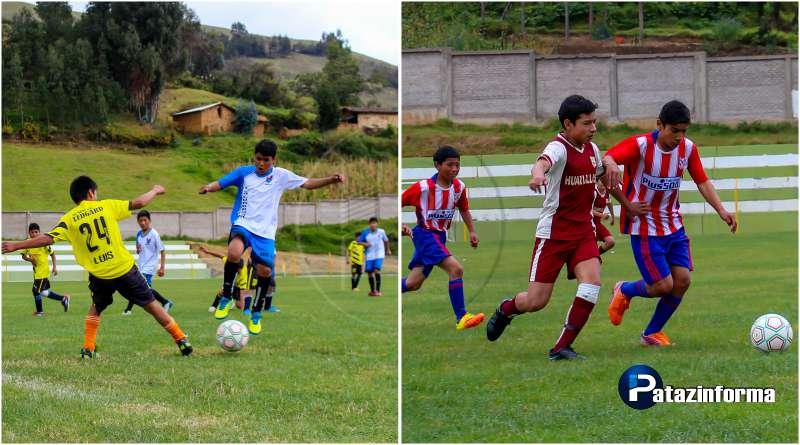 TAYABAMBA | Colegios de Llacuabamba y Huancas a la final fútbol sub 14
