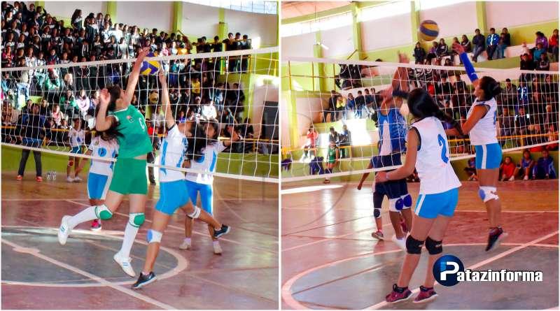 TAYABAMBA | Colegios de Llacuabamba y Piás a la final de vóley sub 14