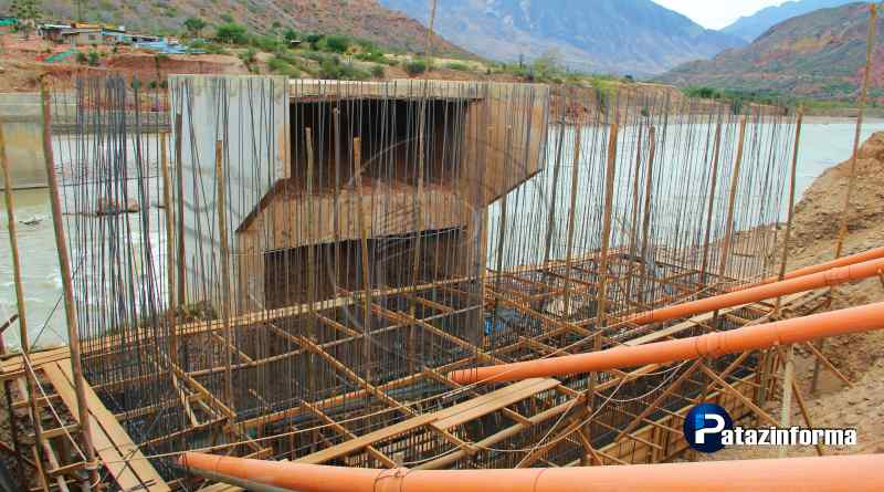 PATAZ | Inician trabajos civiles en Uchos de Puente Antonio Raimondi