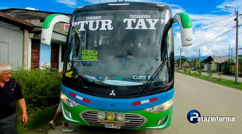 TAYABAMBA | Nueva agencia inició su servicio de transportes a Tocache