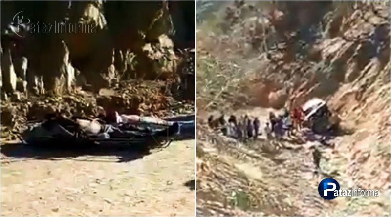 PATAZ | Trágico accidente de tránsito deja 3 muertos y 2 heridos en Vijus