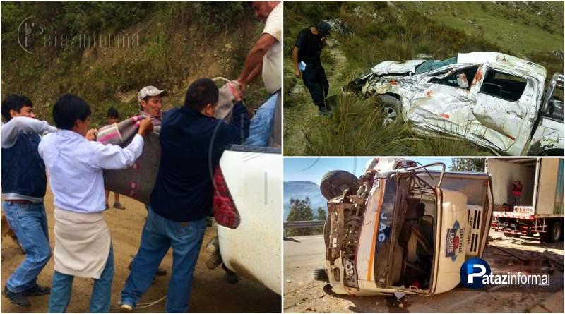LA LIBERTAD | Accidentes en la sierra dejan un muerto y varios heridos
