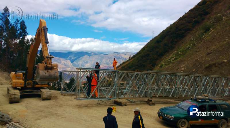 PATAZ | Vía Tayabamba – Uchos – Sihuas contará con 2 puentes modulares