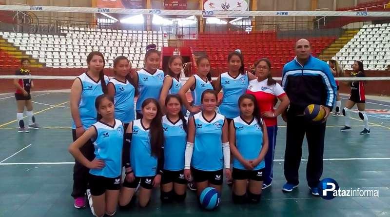 PATAZ | Equipo de Llacuabamba sub 14 a la gran final de juegos escolares