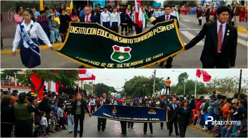 PATAZ | Delegaciones mostraron fervor patriótico en el desfile de Trujillo