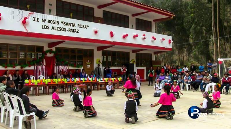 PATAZ | Decenas de escolares en Los Alisos con nuevo centro educativo