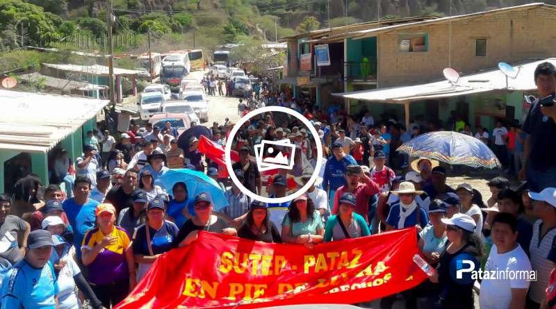 PATAZ | Magisterio patacino de la zona norte en pie de lucha indefinida