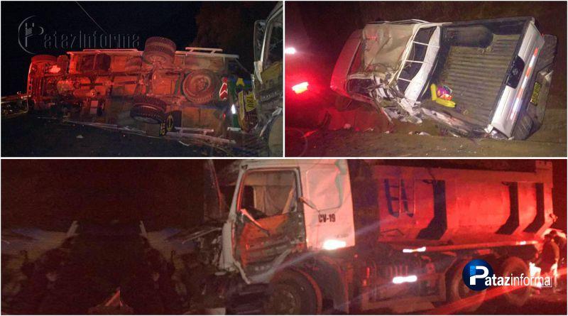 LA LIBERTAD | Choque entre 5 vehículos deja varios heridos en la sierra