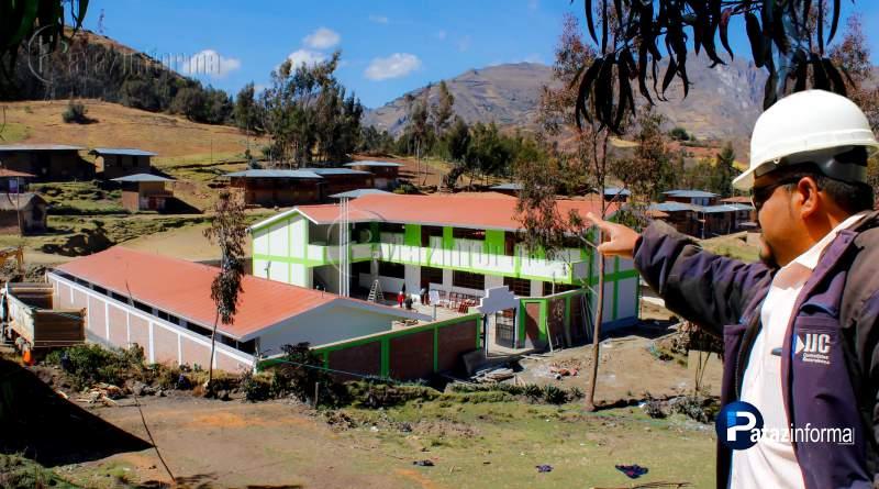 TAYABAMBA | En los próximos días entregarán colegio en Ucchapampa