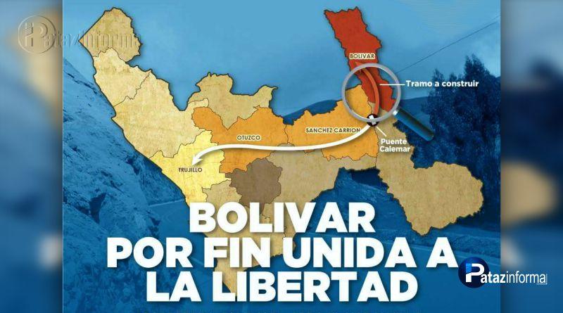 LA LIBERTAD | Provincia de Bolívar al fin se conectará a región liberteña
