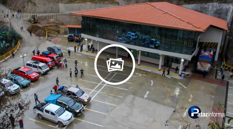 TAYABAMBA   Embarque y desembarque inició en Terminal Chagualito