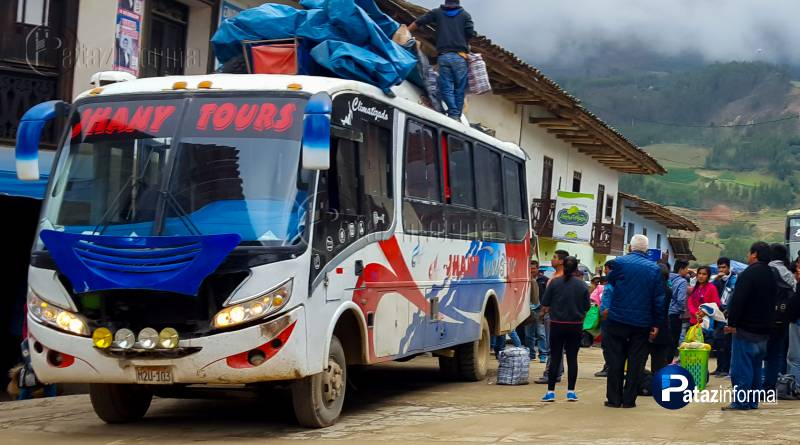 TAYABAMBA   Pasajeros de Jhany Tours son asaltados rumbo a Trujillo