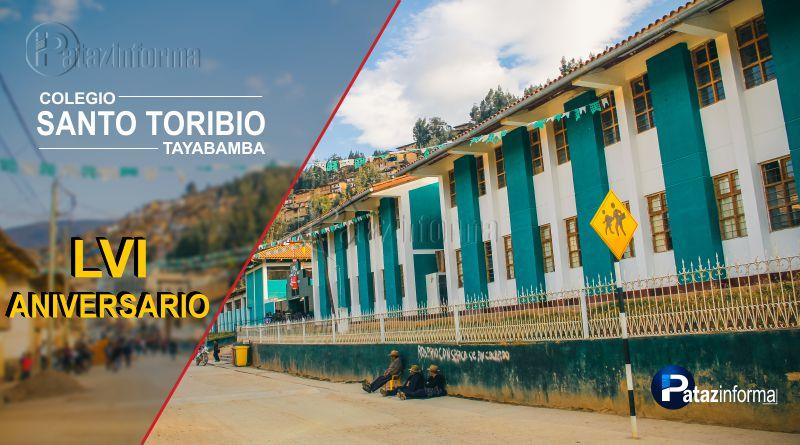 TAYABAMBA | I. E. Santo Toribio celebra 56 años de vida institucional
