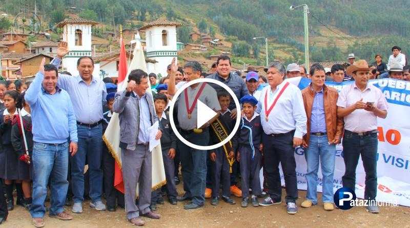 PATAZ | Congresistas llegaron a Taurija y apoyarán gestión de obras