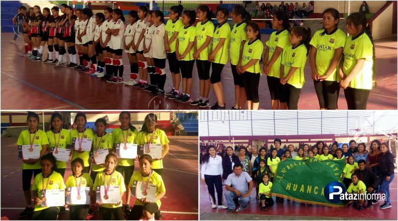 PATAZ | Equipo Sub 12 de Huancas entre los tres mejores de la región