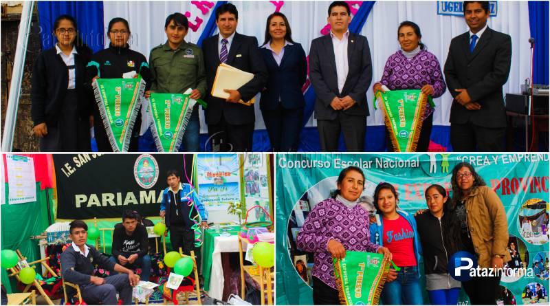 PATAZ | I. E. de Pariamarca campeón provincial de Crea y Emprende