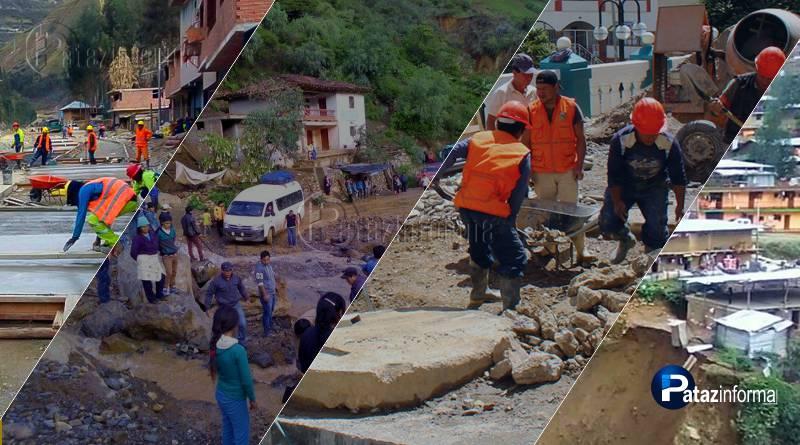 PATAZ | Distritos recibirán 29 proyectos del GRLL por reconstrucción