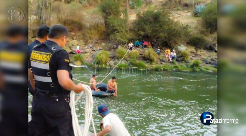 PATAZ | Policía fallece ahogado en el río Marañón en la sierra liberteña
