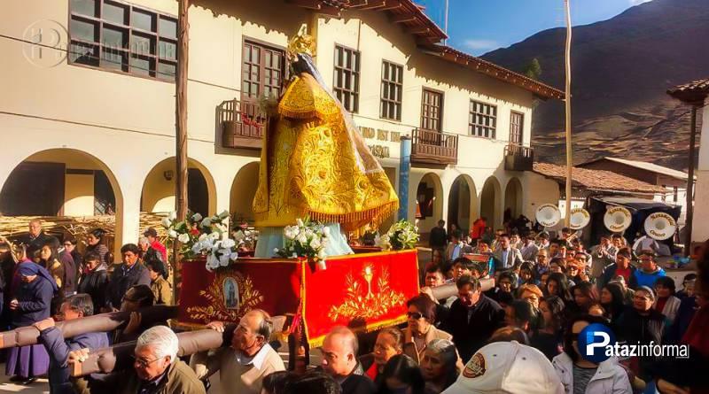 HUANCASPATA | Pueblo católico celebró su fiesta a la Mamita Nati