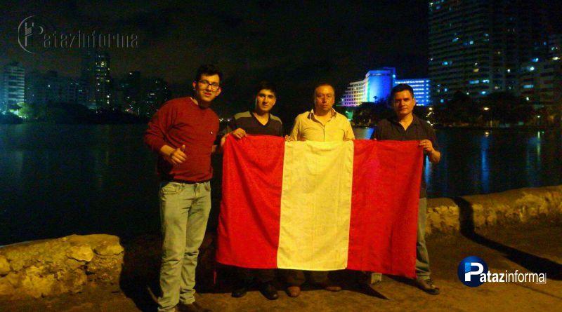TAYABAMBA | Alumnos ya están en Bogotá para representar al Perú