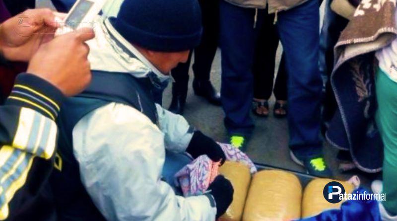 PARCOY | Caen 2 sujetos con 45 kilos de marihuana en Llacuabamba