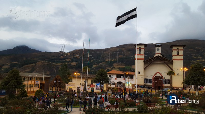 TAYABAMBA | Con bombos y platillos inició fiesta a San Martín 2017