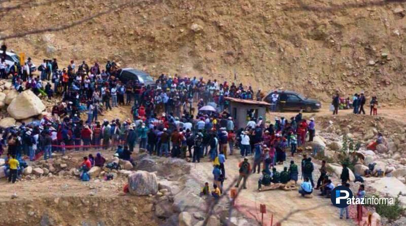 PIÁS | Pobladores en pie de lucha tomaron el Puente de Yuracyacu