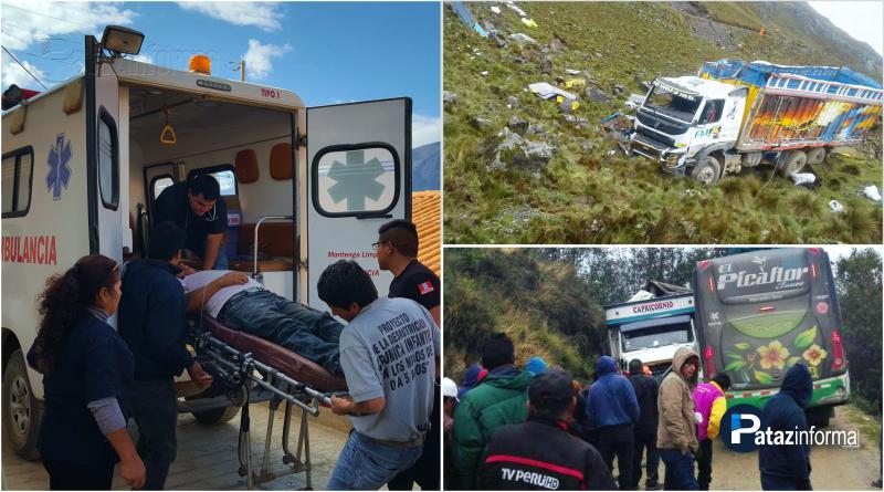 PATAZ | Mala racha en las rutas patacinas deja 3 muertos y 5 heridos