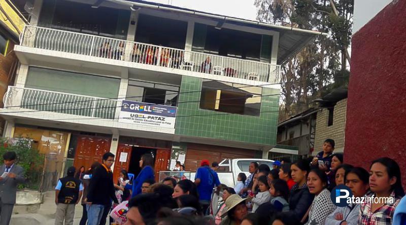 PATAZ | Aperturan sede de UGEL en Llacuabamba – distrito Parcoy