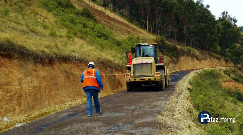 PATAZ | Inició asfaltado de vía patacina ruta Tayabamba – Miraflores