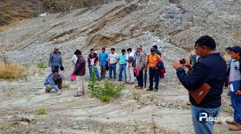 PIAS | OEFA realiza inspección ante derrame de relave en Yuracyacu
