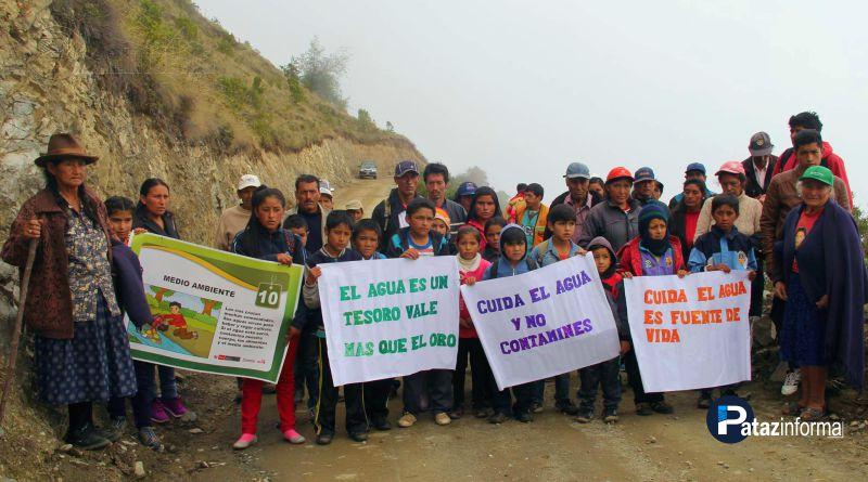 HUAYLILLAS | Protestan contra minera Caravelí por contaminación