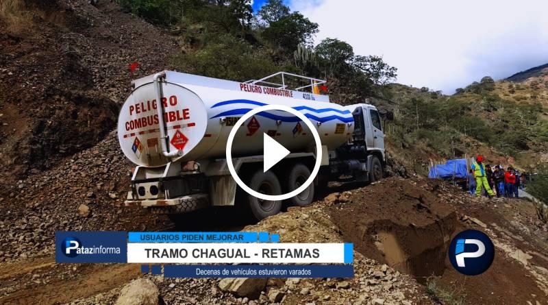 PATAZ | Usuarios piden mejorar sectores de vía Chagual – Retamas