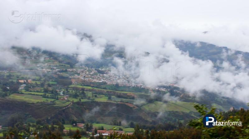 PATAZ | Distritos con Lluvias, neblina y descensos de Temperatura