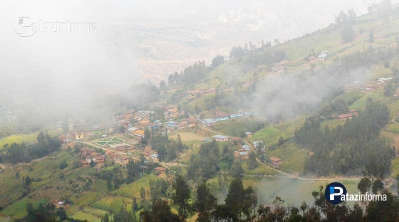 PATAZ | Lluvia, neblina y descenso de temperatura se prolongarán