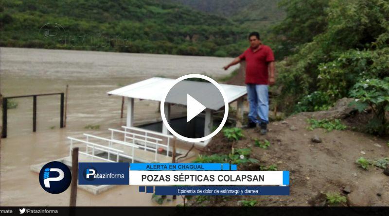 PATAZ | Alerta en Chagual, denuncian el colapso de pozas sépticas
