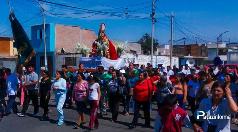 TAYABAMBA | Fieles devotos recibieron a Santo Toribio en Chimbote