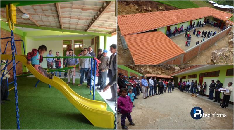 BULDIBUYO | Niños de inicial de Llampao con nuevo centro educativo