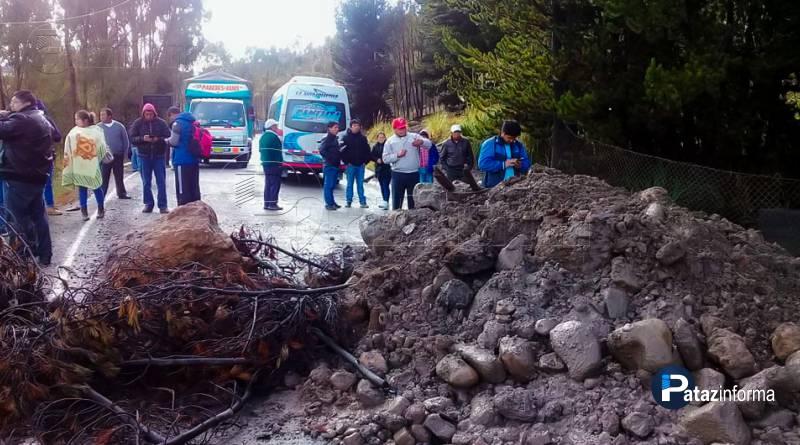 LA LIBERTAD | Bloquean pase a sierra liberteña por paro de 48Hrs