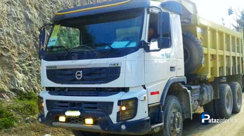 LA LIBERTAD | Roban 30Tn. de mineral a un camión de Tayabamba