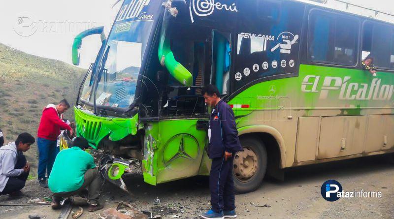violento choque-entre-bus-empresa-el-picaflor-con-camion