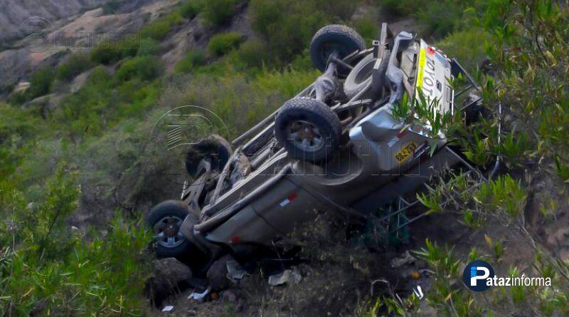HUANCASPATA | Trágico accidente deja 03 muertos y 09 heridos