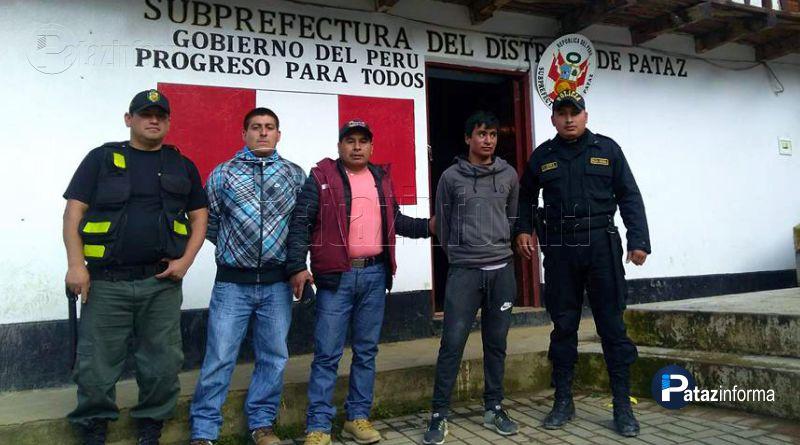 PATAZ | Requisitoriado por violación fue capturado en Pueblo Nuevo