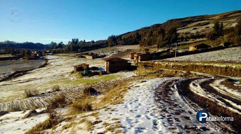 LA LIBERTAD | Granizada arrasó con 100 Has. de cultivos en el ande