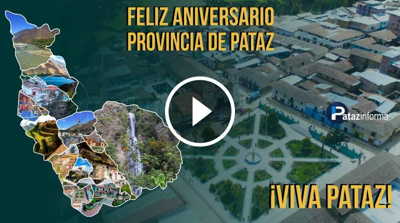PATAZ | Homenaje a la provincia de Pataz por su 197 aniversario